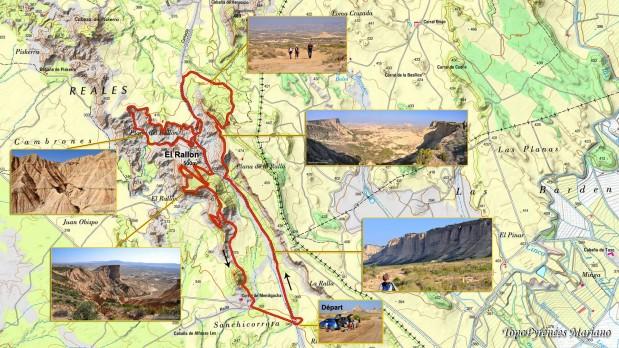 Carte-IGN-El-Rallon-Bardenas-2014