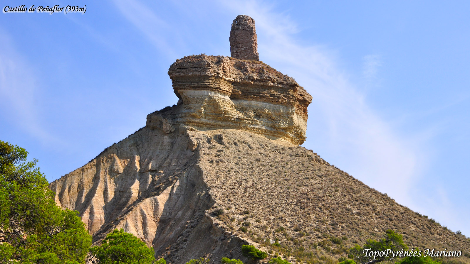 Randonnée Castillo de Peñaflor (393m)