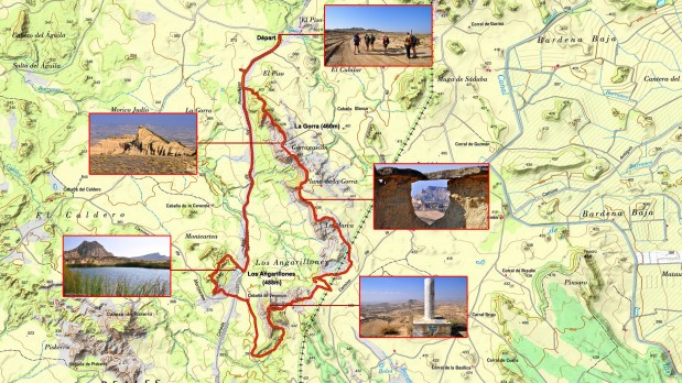 Carte-IGN-La-Gorra-Los-Angarillones