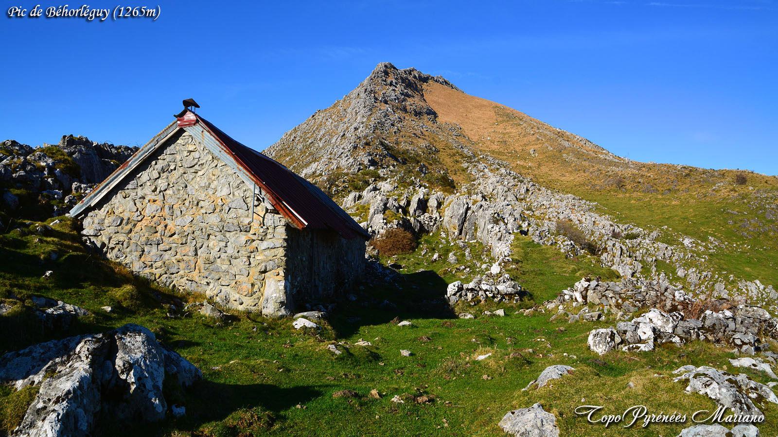 Randonnée Pic de Béhorléguy (1265m)