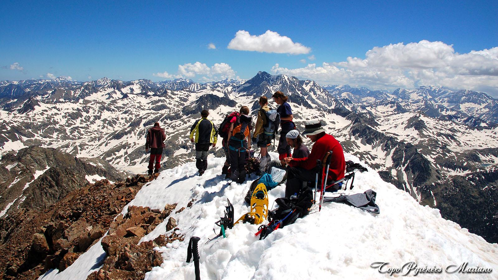 Sorties hivernales en Espagne (raquettes à neige, ski de randonnée ou crampons/piolet)