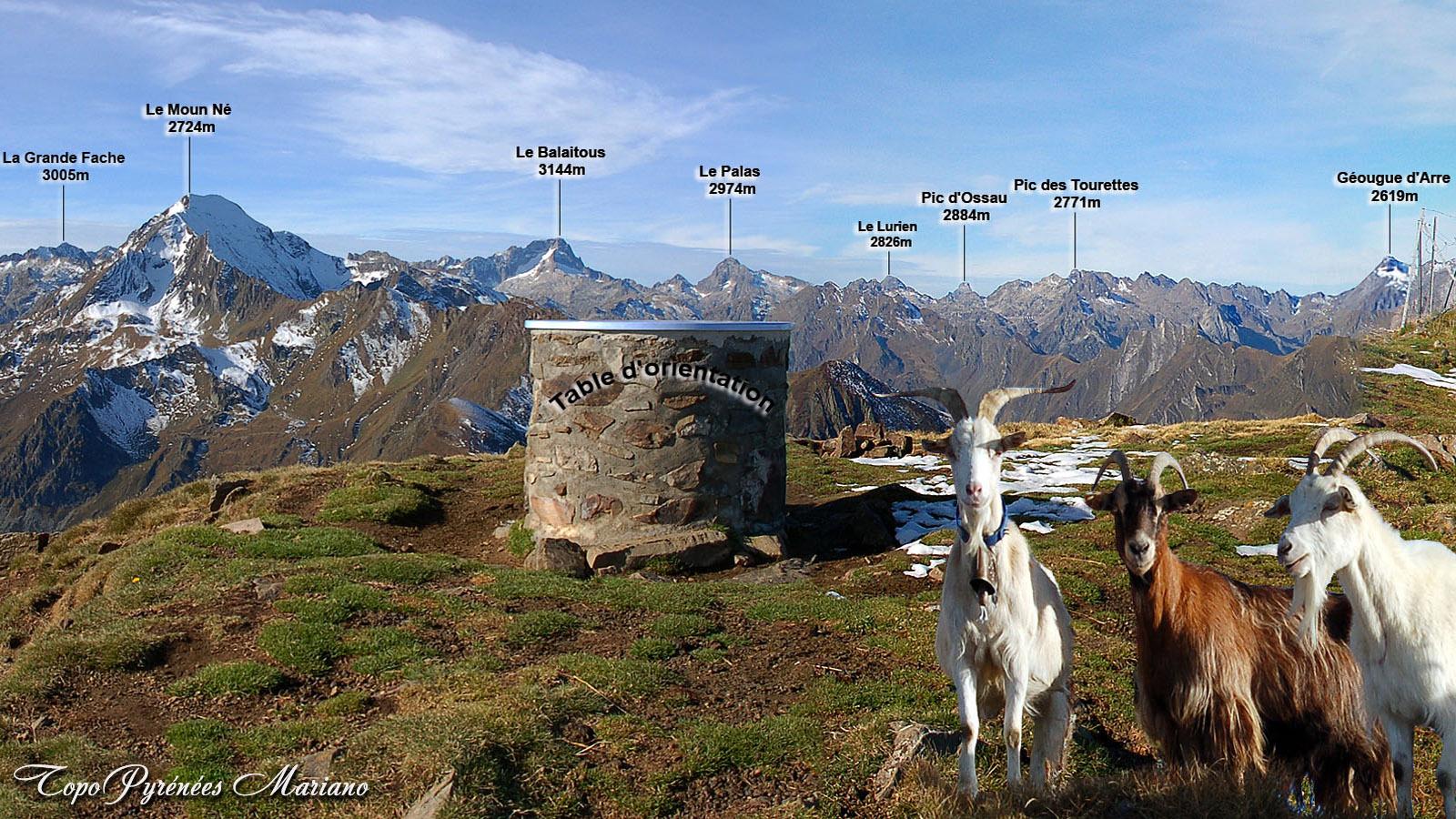 Randonnée Cabaliros 2334m par Cauterets