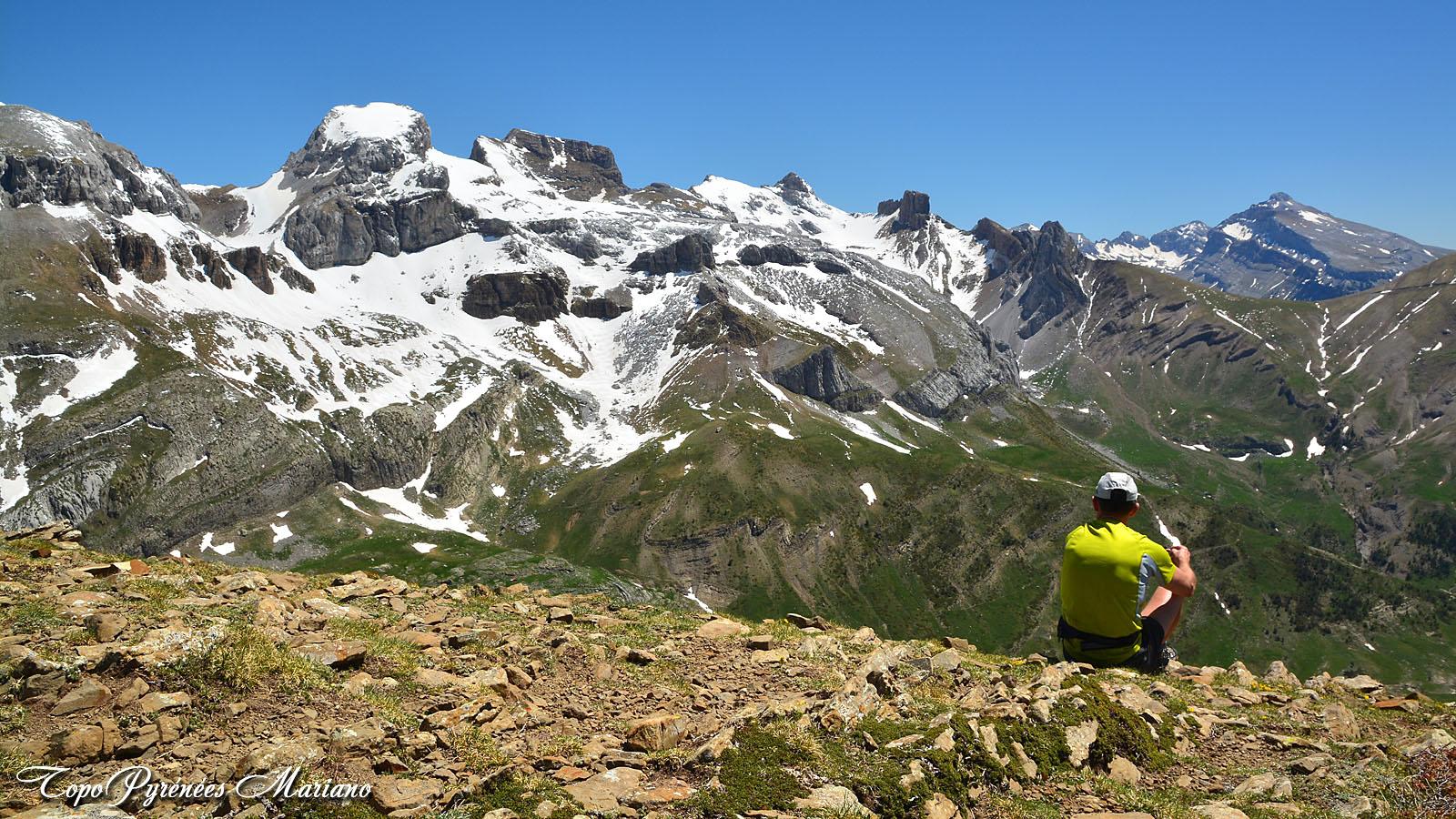 Randonnée Pico Mesola (2168m) en boucle