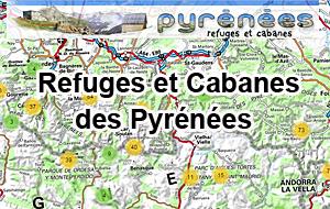 Refuges et Cabanes des Pyrénées