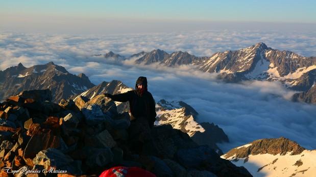 Une nuit sur le plus haut sommet des Pyrénées françaises