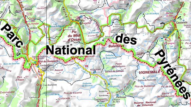 Carte-IGN-des-Pyrenees