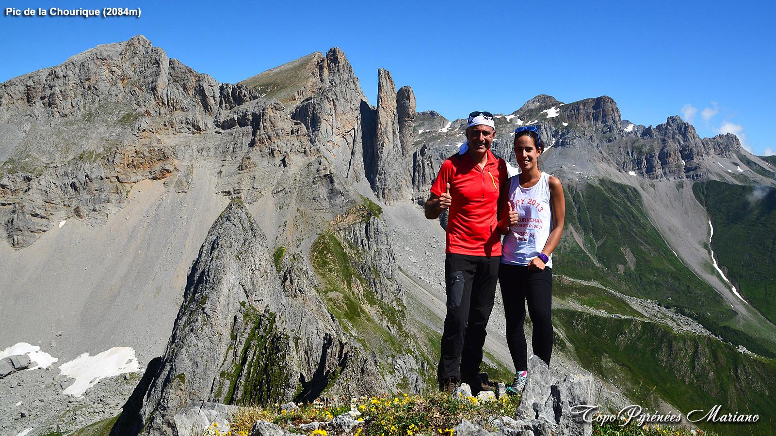 Randonnée Pic de la Chourique (2084m)