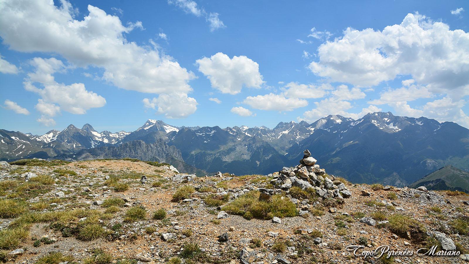 Randonnée Punta Sorpena (2249m)