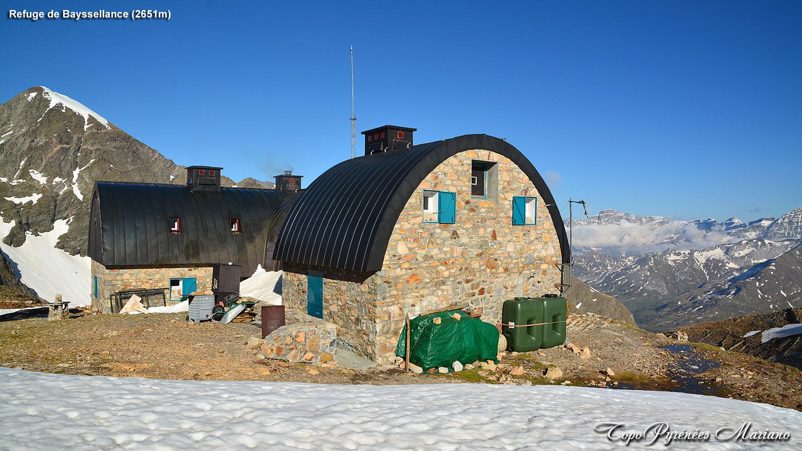 Randonnée Refuge de Bayssellance (2651m)