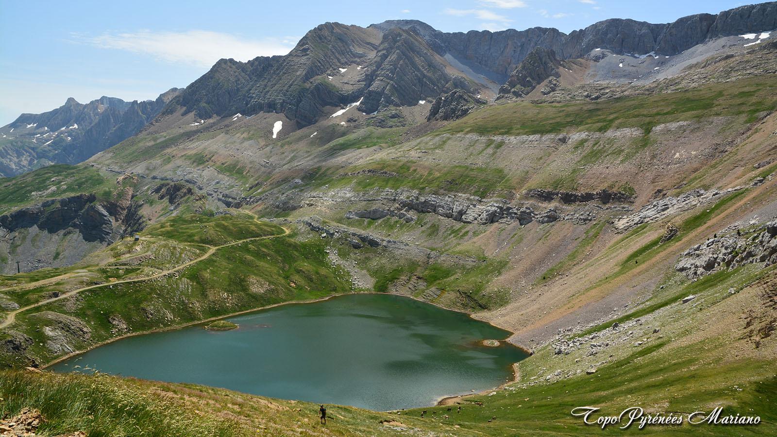 Lac de los Asnos (2060m) et Punta Narronal (2212m)