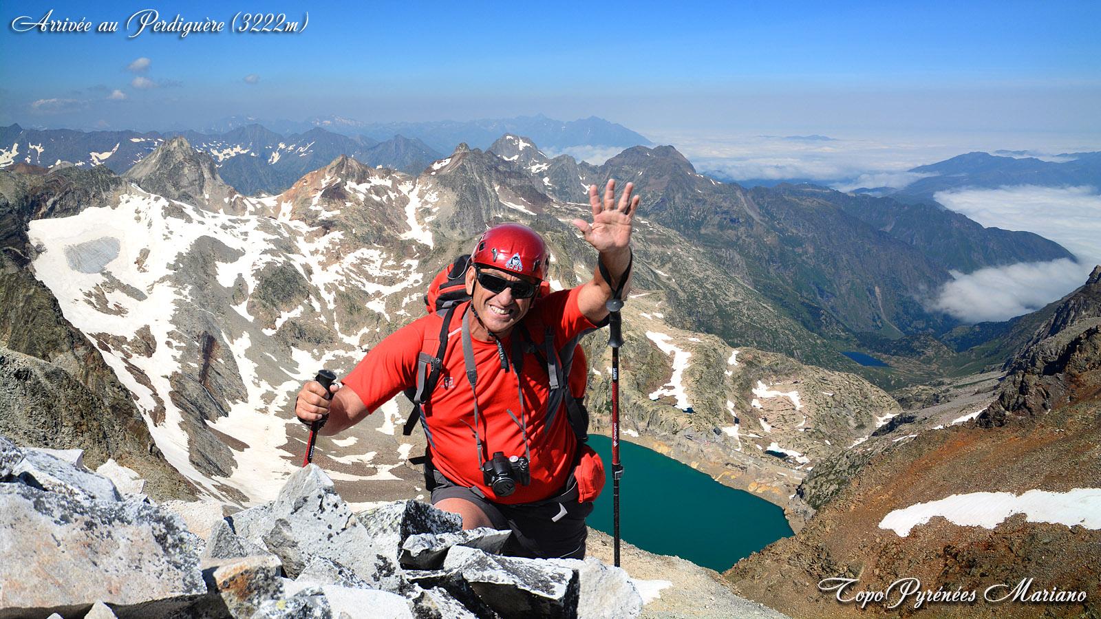 Randonnée Pic Perdiguère (3222m) en boucle
