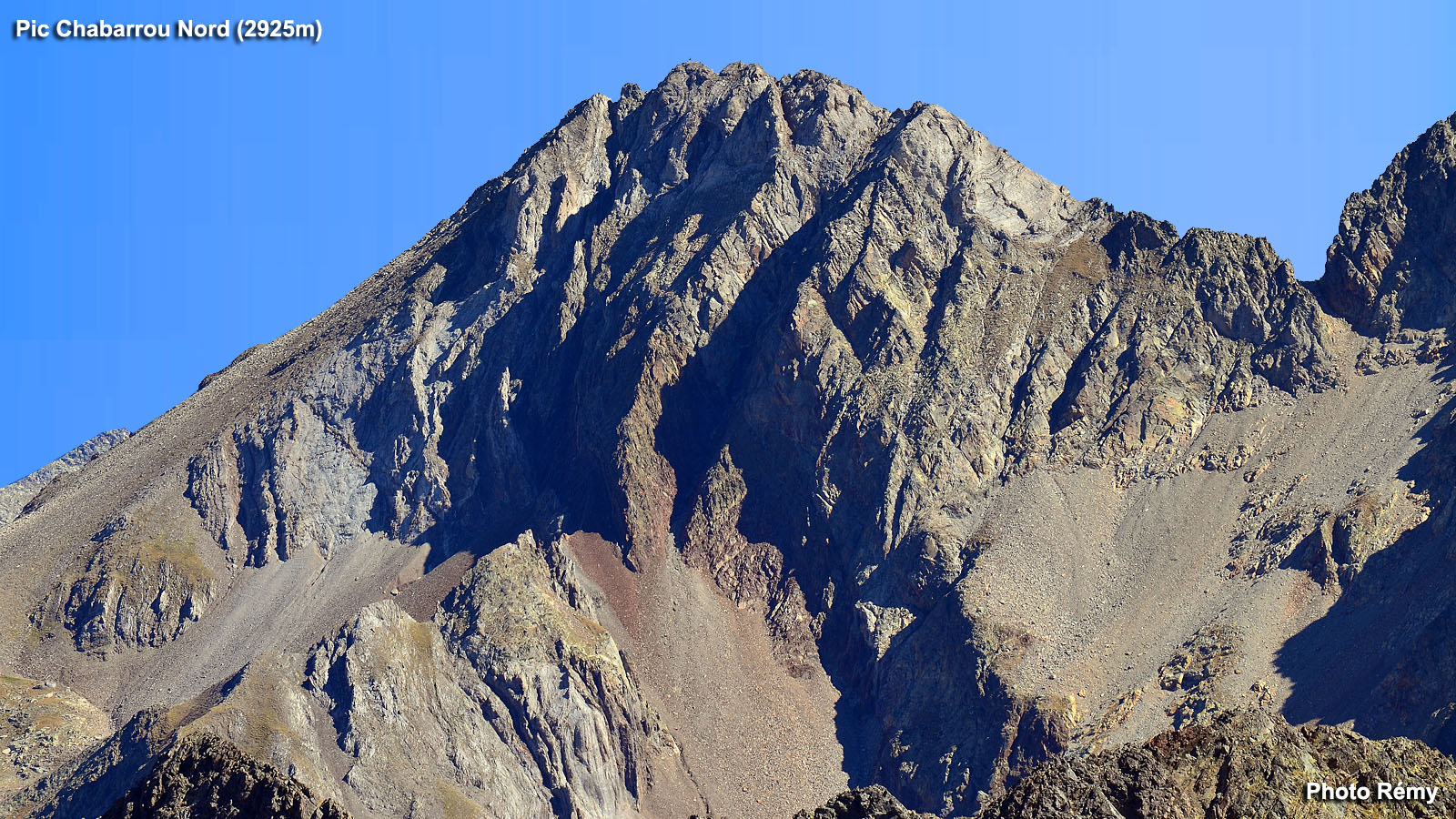 Randonnée Pic Chabarrou 2925m