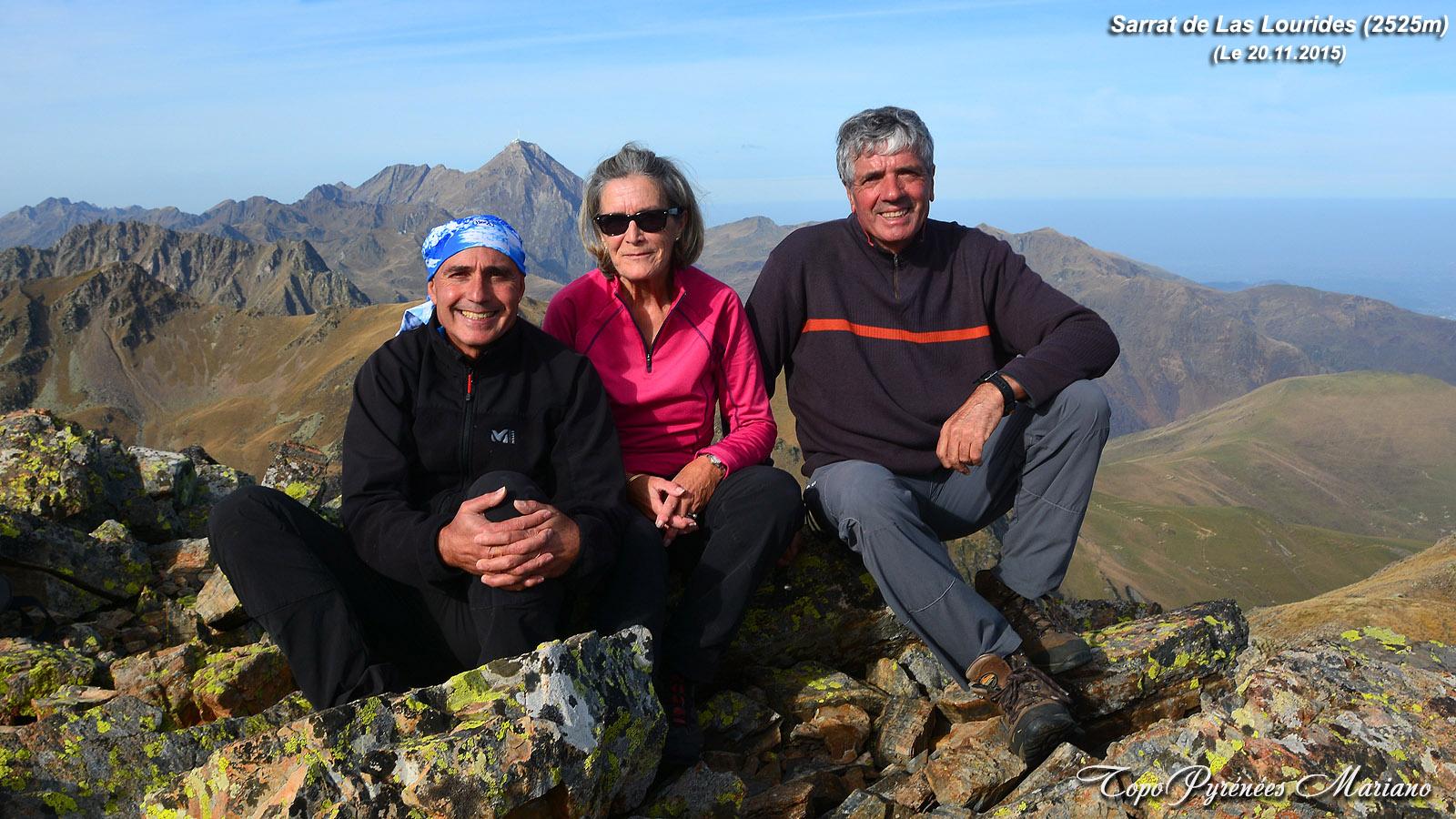 Randonnée Sarrat de Las Lourides (2518m)