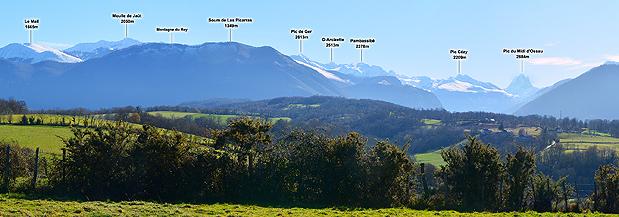 Panorama Croix de Buzy (550m)