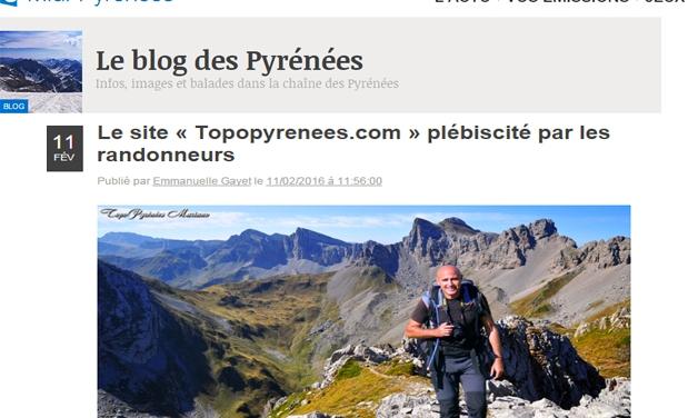 Le site « Topopyrenees.com » plébiscité par les randonneurs