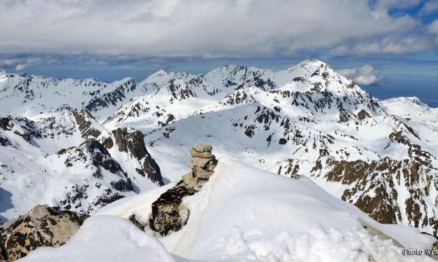 Raquettes au Pic des quatre Termes (2724m)