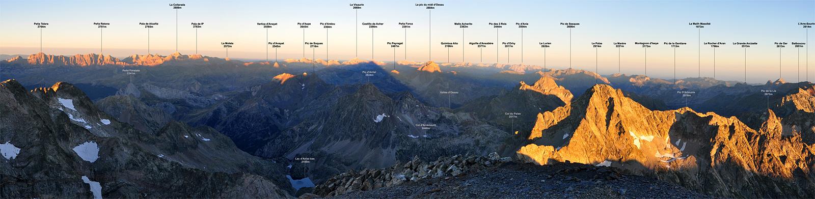 Tous les Panoramas du site Topopyrénées