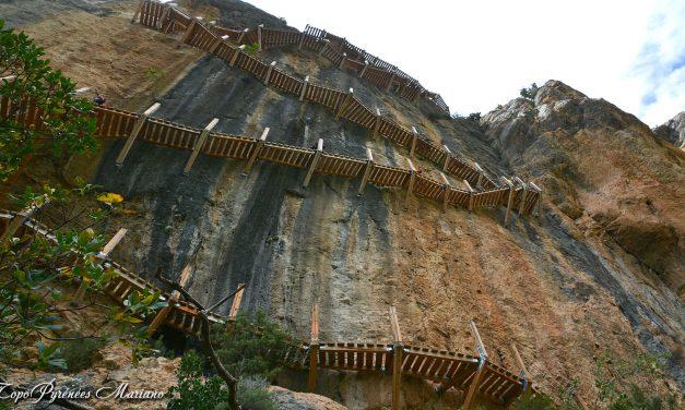 Randonnée Congost de Mont-rebei et Passerelles du Montfalco