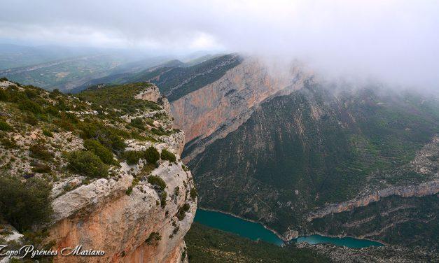 Randonnée Pico Mungay (1331m) Sierra Montsec de l'Estall