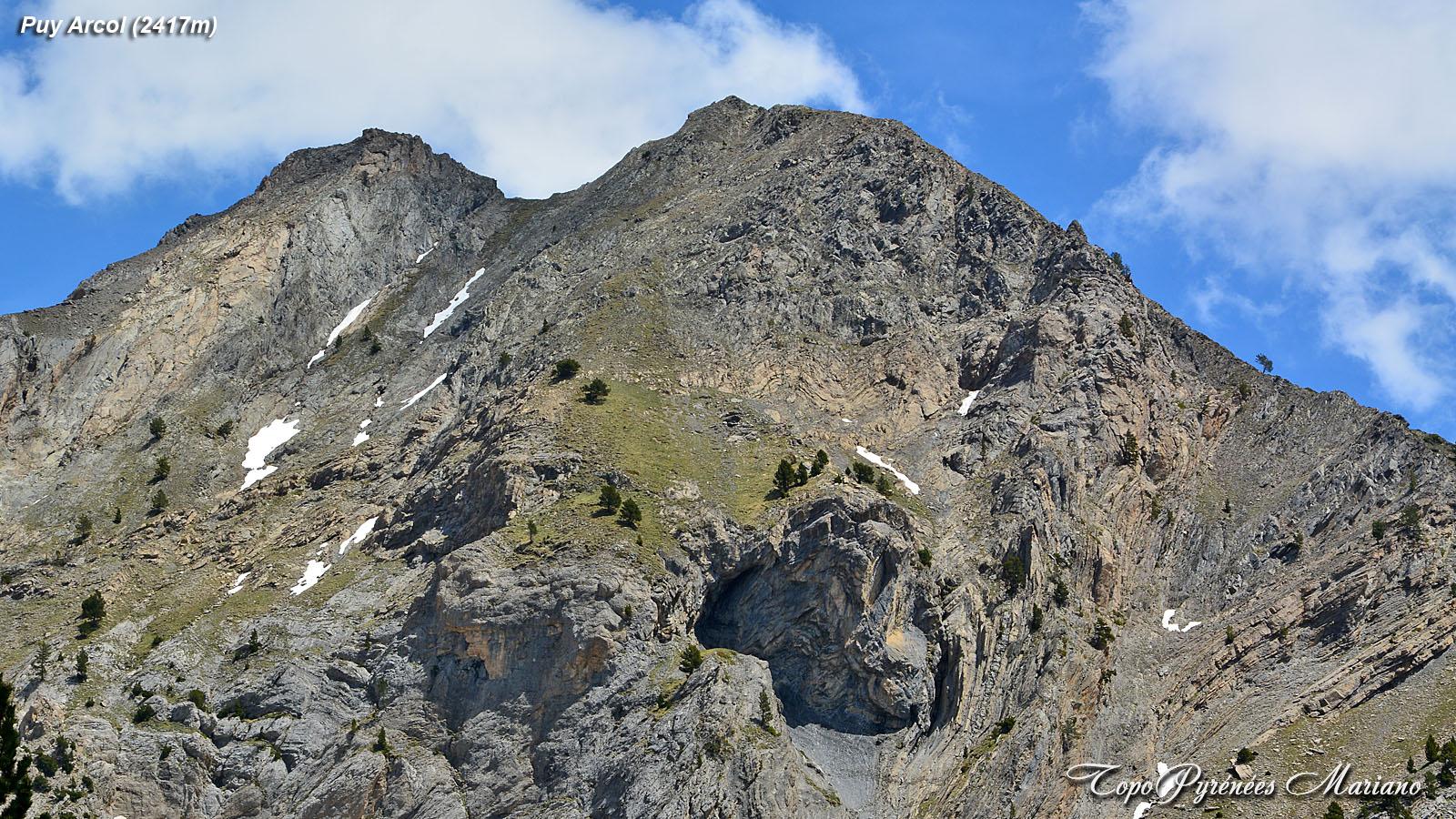 Randonnée Puy Arcol (2417m)