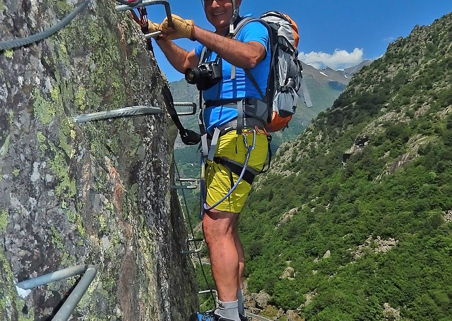 Via Ferrata de Coumély (1400m)
