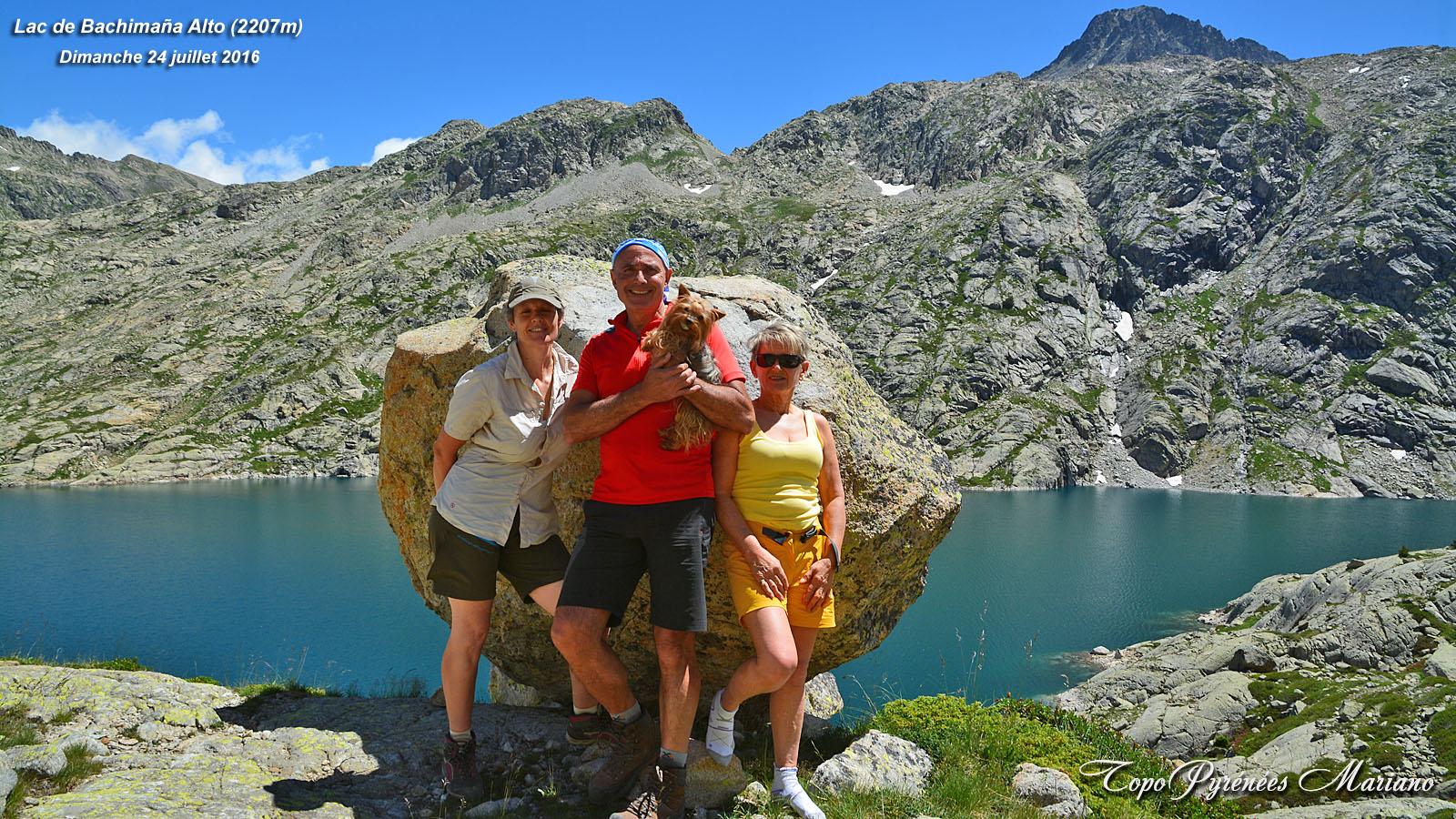 Randonnée Lac de Bachimaña Alto (2207m)