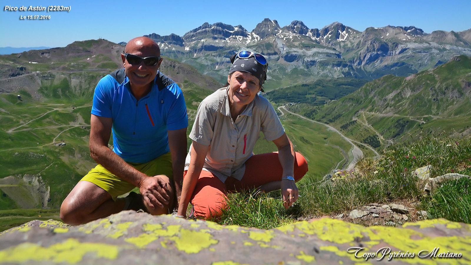 Randonnée Pico de los Monjes (2349m) et Pico Astún (2283m)