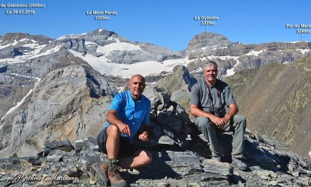 Randonné Pic de Bouneu (2726m) – Pic Gabiédou (2809m) – Soum de Port Bieil (2846m)