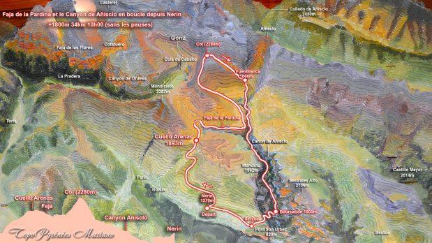 Carte-3D-Faja-Pardina-Canyon-Anisclo