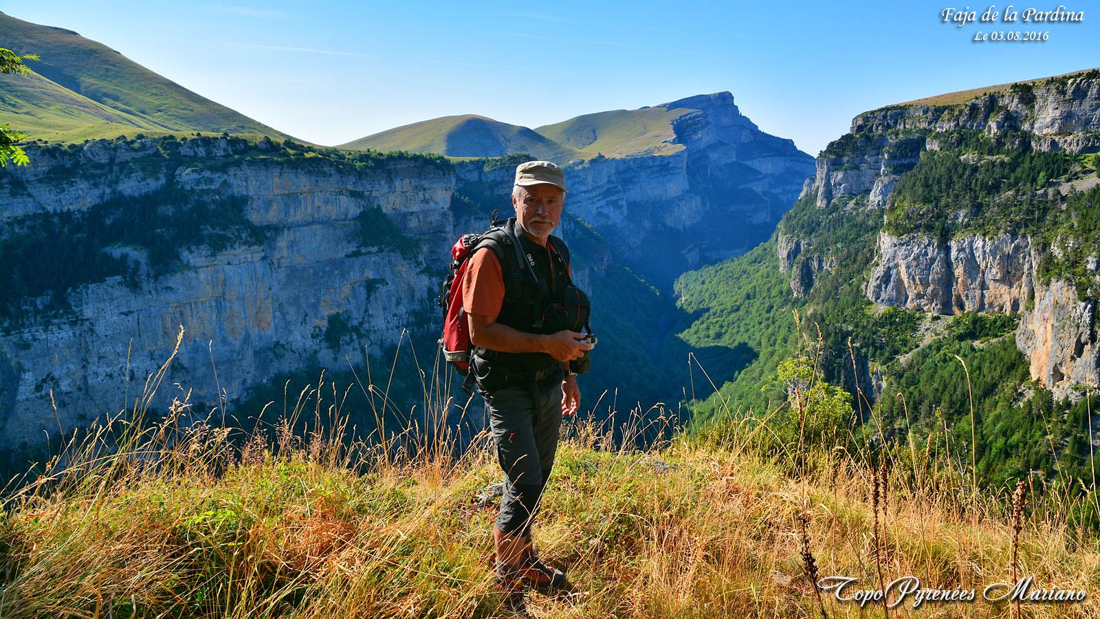 Faja de la Pardina et Canyon de Añisclo en boucle depuis Nerin