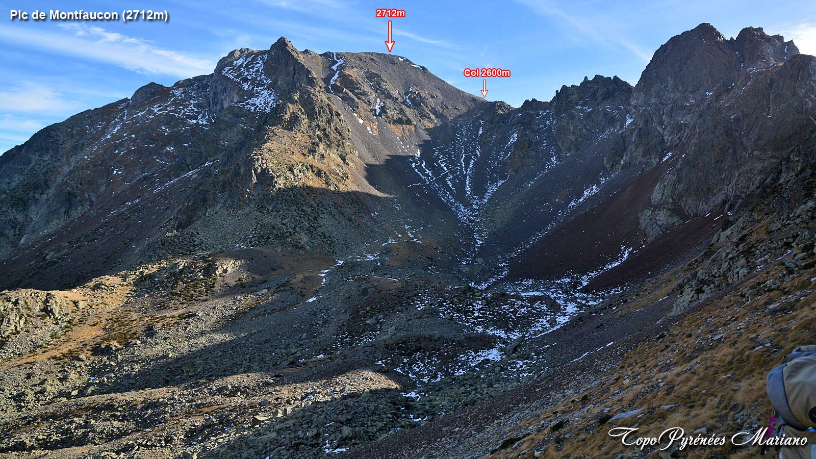 Randonnée Pic de Montfaucon (2712m)