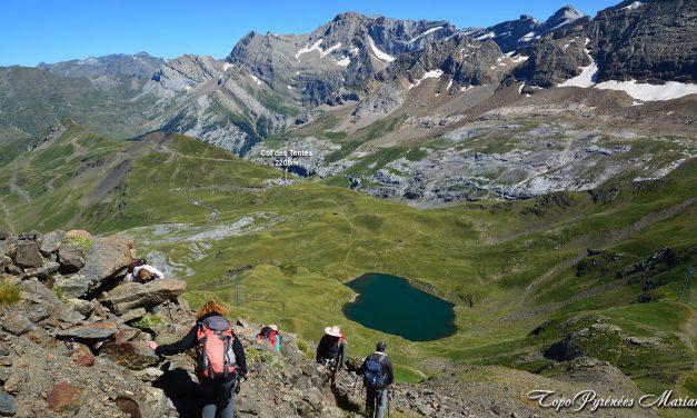 Randonnée Pic de Saint André (2608m) et Soum Blanc des Especières (2685m)