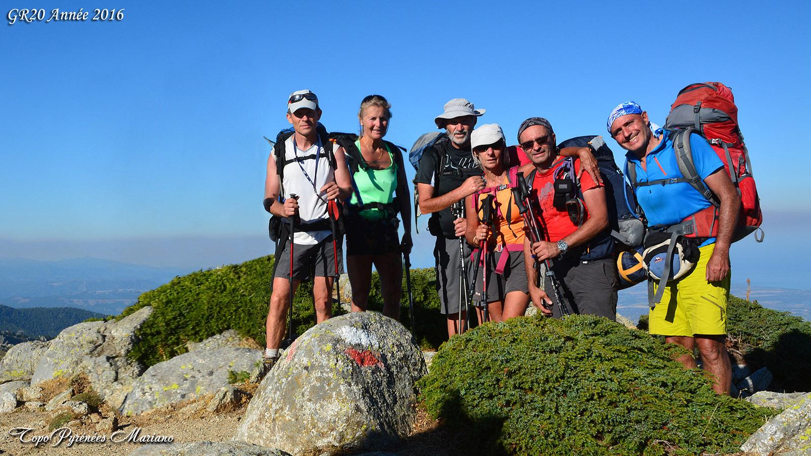 GR20 du Sud au Nord (3em étape) Bassetta-Prati