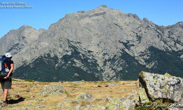 GR20 du Sud au Nord (5em étape) Capanelle-Vizzavona