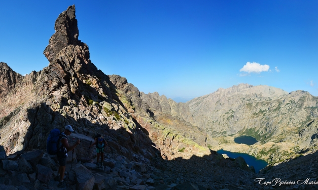 GR20 du Sud au Nord (7em étape) L-Onda-Manganu