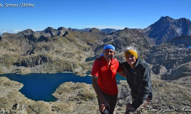 Randonnée Pico Serrato (2888m)