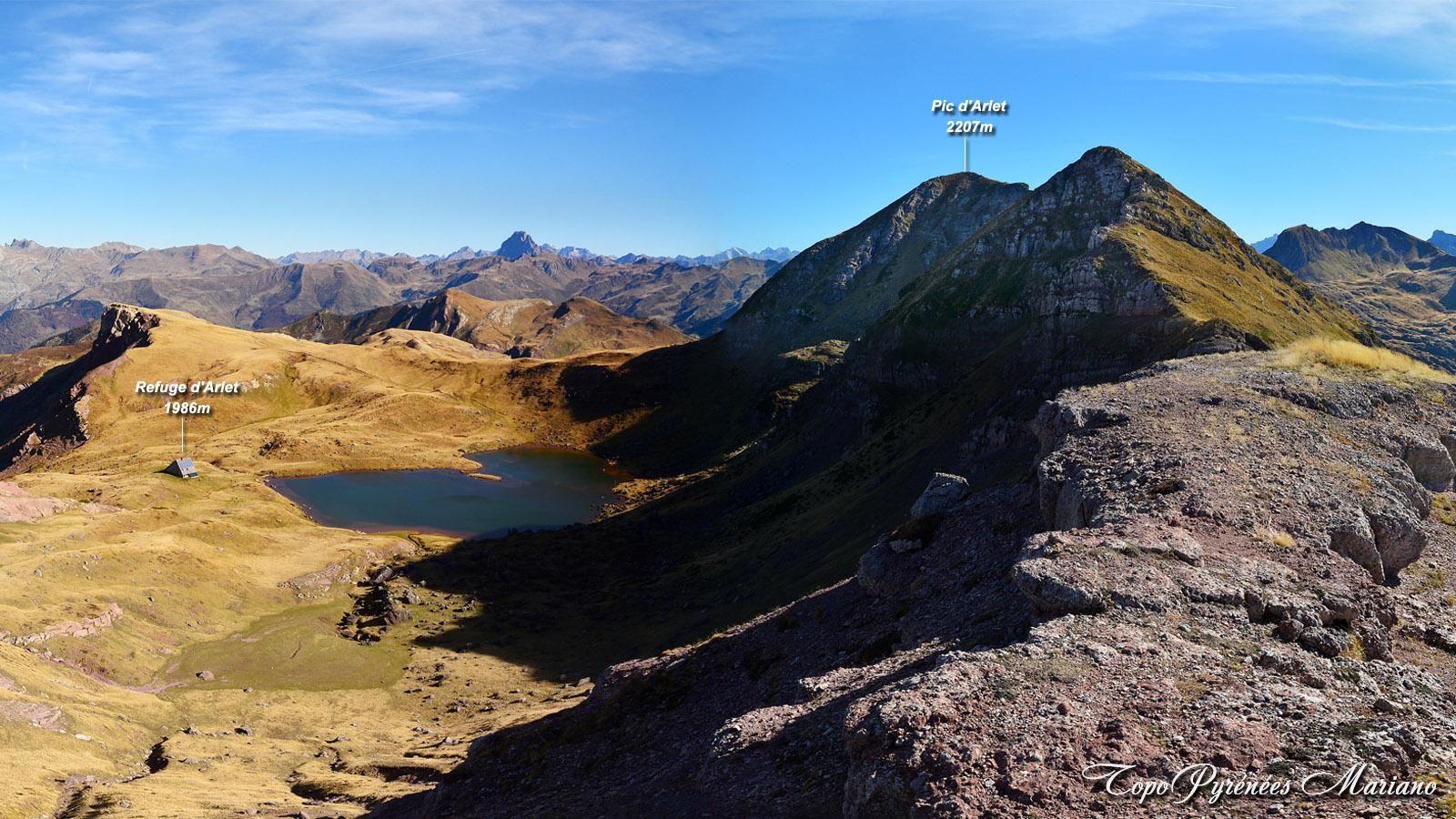 Randonnée Pic d'Arlet 2207m