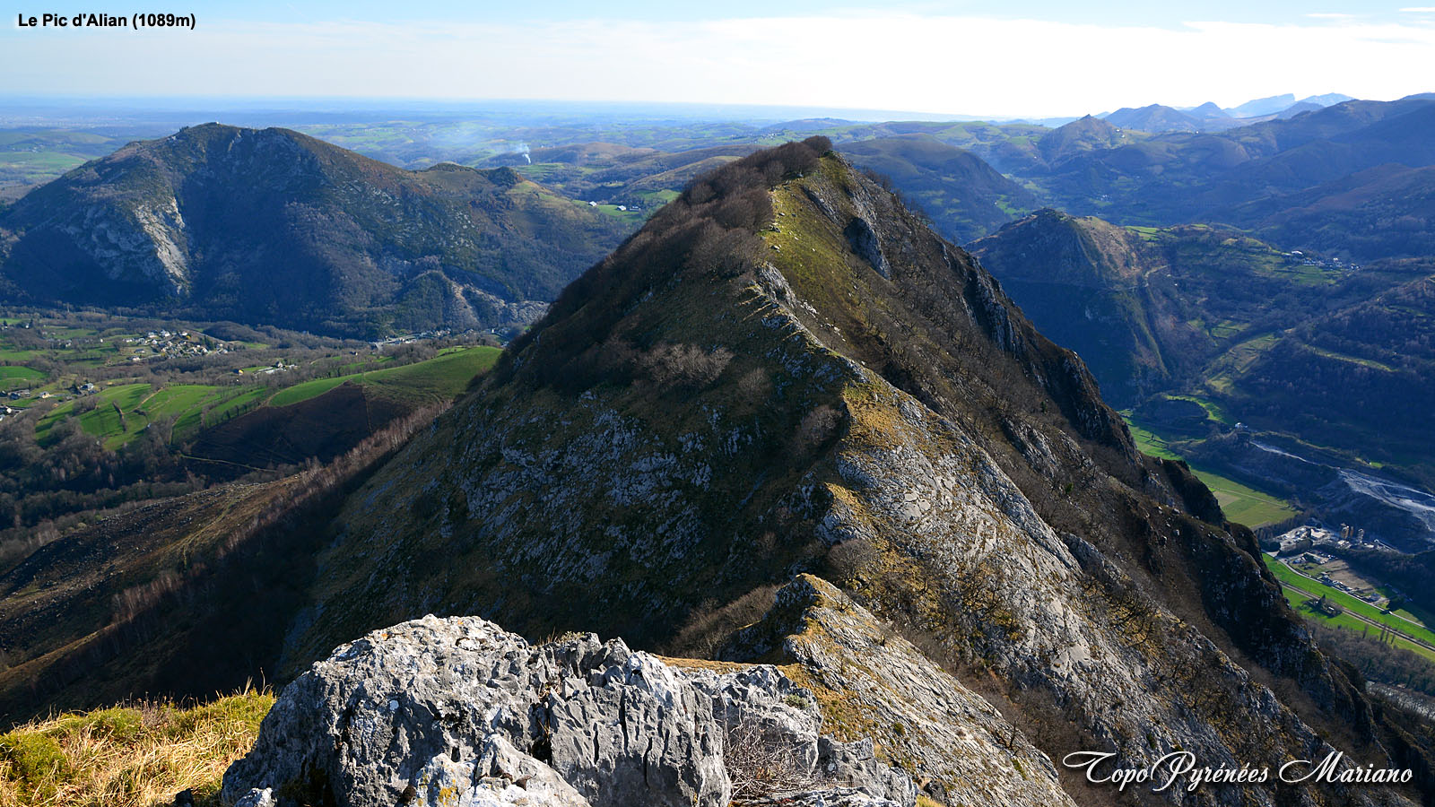 Randonnée Pic d'Alian (1089m)