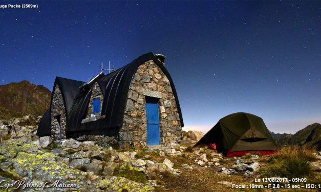 Bivouac au Refuge de Packe (2509m)