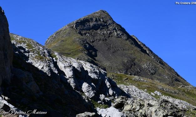 Randonnée Pic Crabère 2590m