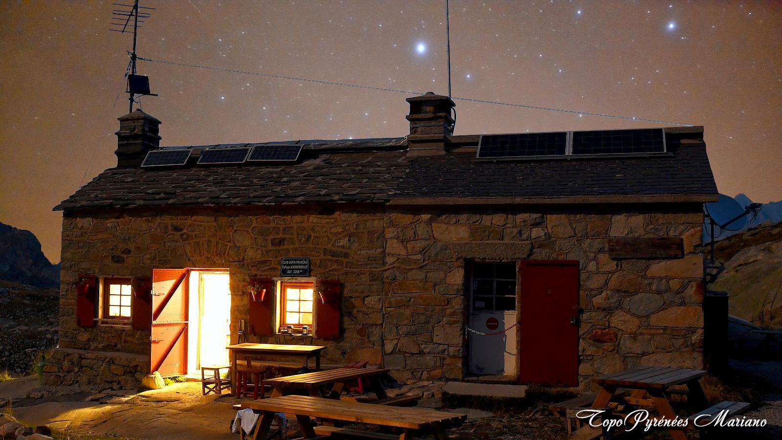 Bivouac au refuge d'Arrémoulit (2265m)