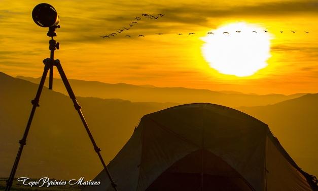 Bivouac au Mont Errebi (583m)