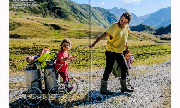 Les nouvelles bergères des Pyrénées par Laurence Fleury