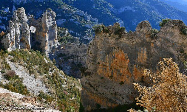 Randonnée Tour du canyon du Mascun par les vires (Sierra de Guara)