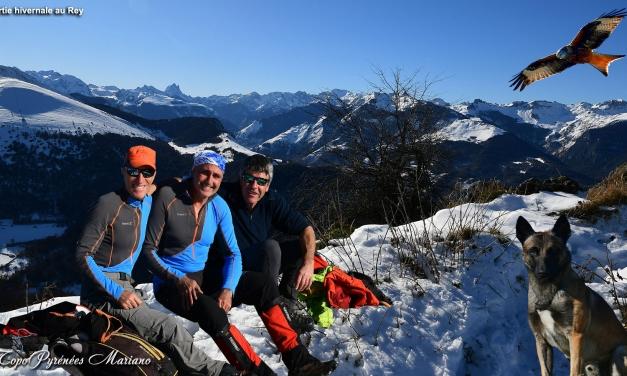 Sortie hivernale à la montagne du Rey (1349m)