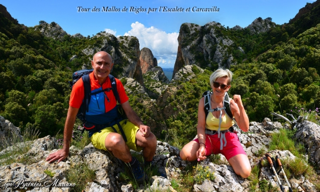 Randonnée Tour des Mallos de Riglos par Escalete et Carcavilla