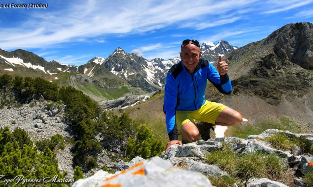 Randonnée Tour et ascension del Pico El Forato (2106m)
