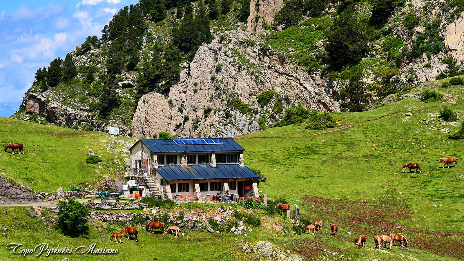 Randonnée au refuge de Prat d'Aguilo (2037m)