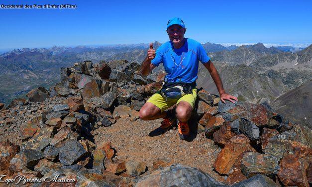Sortie Pic Tebarray (2886m) et Pics d'Enfer (3082m).