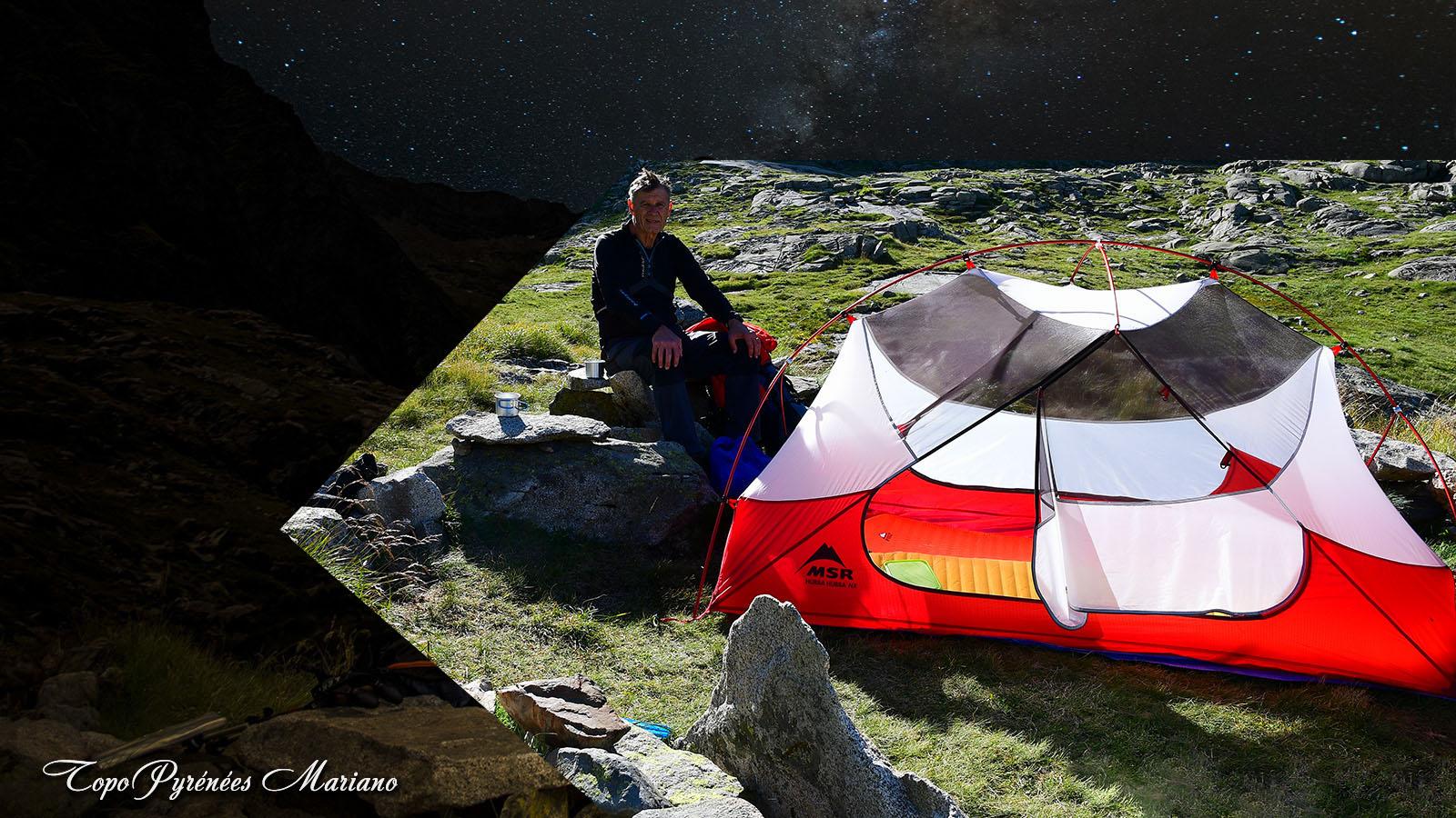 Bivouac au refuge des Estagnous (2246m)